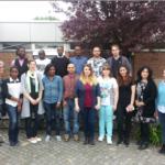 Die neuen Pflegeschüler der OTA / ATA Schule mit Ihren Betreuern © MHH
